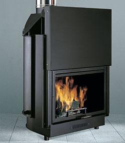 Calderas de biomasa for Chimeneas de lena para calefaccion