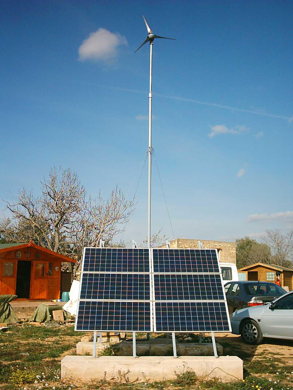 Electrificaci 243 N Rural Mediante Energ 237 A Solar Y E 243 Lica