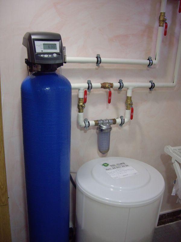 Descalcificaci n de agua - Descalcificador de agua domestico ...