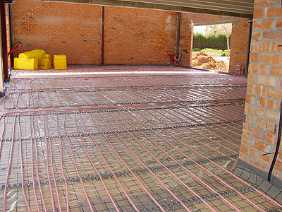Climatizaci n por suelo radiante - Calefaccion por hilo radiante ...